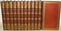 SAMUEL JOHNSON'S WORKS. Leather Library Set. Printed in 1810