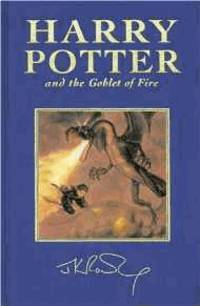 Harry Potter and the Goblet of Fire (Book 4):Special Edition by  J.K Rowling - First UK edition-first printing of this Deluxe edition - 2000 - from Alpha 2 Omega Books and Biblio.com