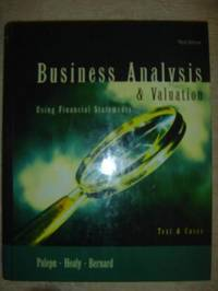 image of Business Analysis & Valuation: Using Financial Statements Text & Cases