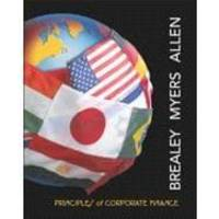 Principles of Corporate Finance (McGraw-Hill/Irwin Series in Finance, Insurance, and Real Est)