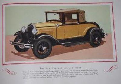 Detroit: John Bornman & Sons, printer, 1929. First edition. Wraps.. Very Good. Beautiful luxury auto...