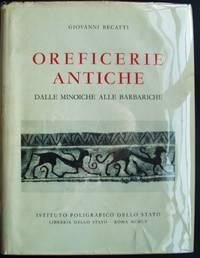 Oreficerie antiche dalle Minoiche alle Barbariche