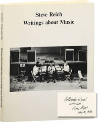 image of Writings about Music (First Edition, inscribed in 1975)