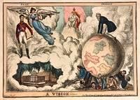 A Vision; Scarce 1830 Political Satire by  William HEATH - 1830 - from Argosy Book Store (SKU: 273665)