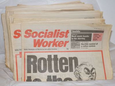 London: International Socialists Publishing and printing, 1993. 16p., 92 issues of this British tabl...