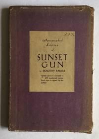 Sunset Gun. Poems.