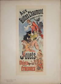 """image of Affiche """"Aux Buttes Chaumont...  Jouets, Objets pour Etrennes, from Les Maitres de l'Affiche Pl. 169"""