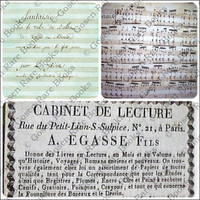 Musical Manuscripts Album, Containing Seven Unpublished Compositions