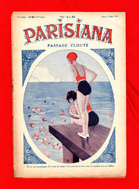 image of Parisiana - Jeudi 6 Aout 1931. Art Deco/Nouveau; pin-up; light erotica. Cover art by Rene Giffey