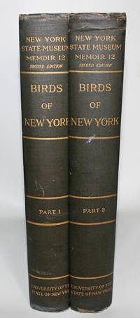 Birds of New York. New York State Museum Memoir 12. (Complete 2-Volume Set) by  Elon Howard Eaton - Hardcover - Second Edition - 1910 - from Knickerbocker Books and Biblio.com