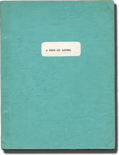 London: Vic Films / Governor Films, 1962. Final British Script for the 1962 film, based on the 1960 ...
