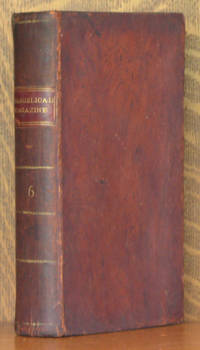 THE CONNECTICUT EVANGELICAL MAGAZINE VOLUME VI CONSISTING OF TWELVE NUMBERS FROM JULY 1805, TO JUNE 1806