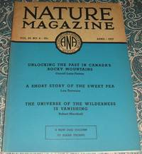 image of An Original Vintage Issue of Nature Magazine for April 1937