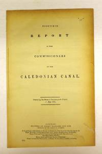 Eightieth Report of the Commissioners of the Caledonian Canal