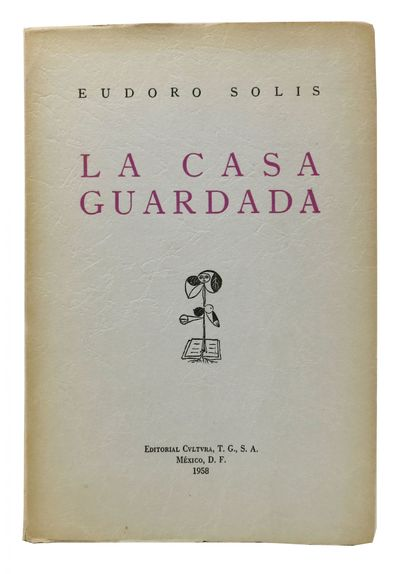 Mexico D.F.: Editorial Cvltvra, 1958. 1st edition. Limited to 1000 cc. Grey printed paper wrappers. ...