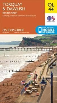 OS Explorer OL44 Torquay & Dawlish, Newton Abbot (OS Explorer Map)