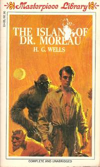 The Island of Dr. Moreau Paperback Masterpiece Library - 1968