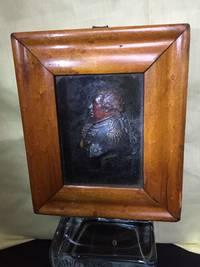 Carved Wax Framed Portrait