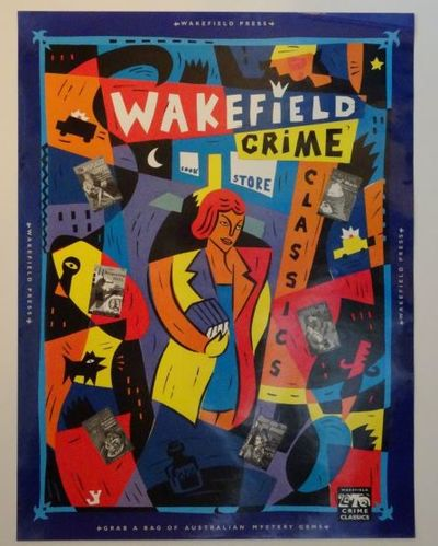 Australia : Wakefield Press Original publisher's promotional poster, no date ( 1992), for the series...