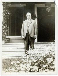 7 x 9 Black-and-White Press Portrait Photograph of Taft