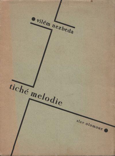 Olomouc: Slav, 1934. Octavo (19 × 14.2 cm). Original decorative wrappers; 74, pp. Very good. In pro...