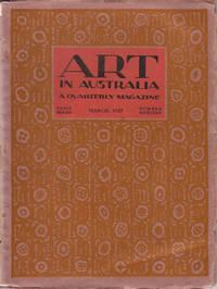 image of Art in Australia. A Quarterly Magazine. Third Series Number 19