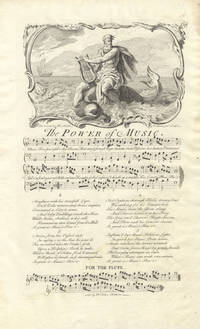 The Power of Music. The Words by Mr. Smith. Set by Mr. John Hudson. Plate 68 from George Bickham's The Musical Entertainer