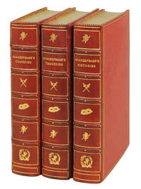Shakespeare's Comedies. With 14 photogravures by E.J. Sullivan. [with] Tragedies. With 13 photogravures by E.J. Sullivan. [with] Histories and Poems. With 12 photogravures by E.J. Sullivan.