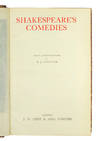 View Image 3 of 3 for Shakespeare's Comedies. With 14 photogravures by E.J. Sullivan. Tragedies. With 13 photogravures by ... Inventory #123514