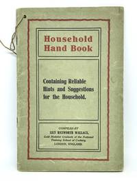 [DOMESTIC SCIENCE] Household Hand Book