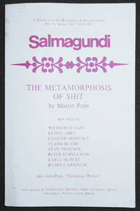 image of Salmagundi: A Quarterly of the Humanities & Social Sciences -- No. 56, Spring 1982