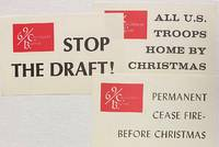 image of [Three stickers from the 1969 Christmas boycott to protest the Vietnam War]