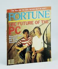 Fortune Magazine, August (Aug.) 21, 1991: Steve Jobs / Bill Gates Interview & Cover Photo