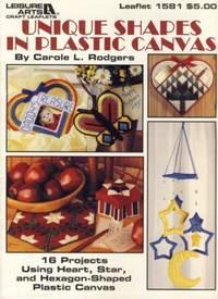 Unique Shapes in Plastic Canvas Leaflet 1581