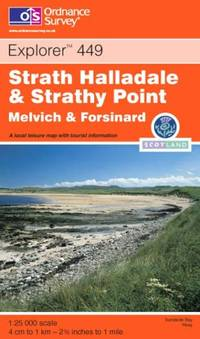 image of Strath Halladale and Strathy Point (OS Explorer Map Active)