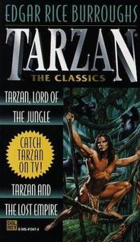 Tarzan 2 in 1 : Tarzan, Lord of the Jungle and Tarzan and the Lost Empire by Edgar Rice Burroughs  - Paperback  - 1997  - from ThriftBooks (SKU: G0345413474I5N00)