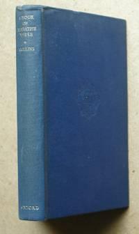 A Book Of Narrative Verse.
