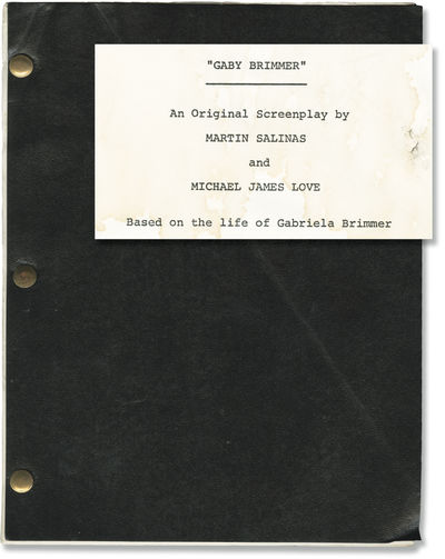 N.p.: N.p., 1986. Revised Draft script for the 1987 film, here under the working title