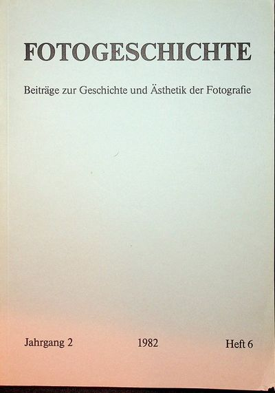Frankfurt: Timm Starl, 1982. First Edition. Wraps. Near Fine. First Edition. 84 pages. Printed grey ...