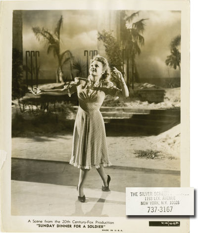 los Altos, CA: Twentieth Century-Fox, 1944. Three vintage studio still photographs from the 1944 fil...