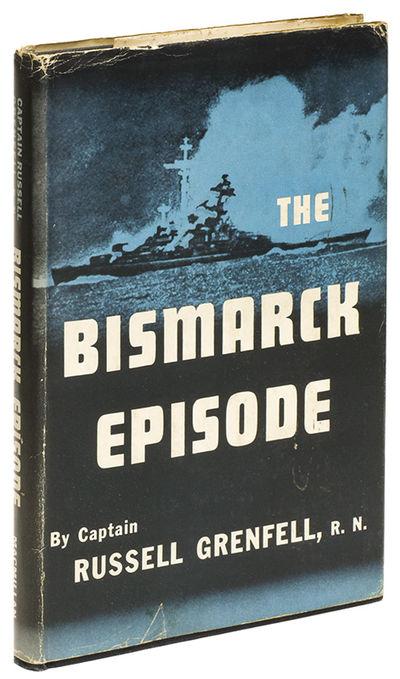 New York: Macmillan, 1949. First Edition. Hardcover. Very good/very good. 8vo. Full navy blue cloth,...