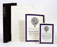 State Funeral of Sir Winston Churchill; Ceremonial to be Observed at the Funeral; The Order of Service for the Funeral