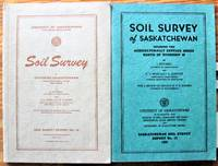 Soil Survey of Saskatchewan. Two Volumes. Vol. 1-From Township 1 to 48. Vol. 2-Areas North of Township 48. Includes 2 Folders of Maps