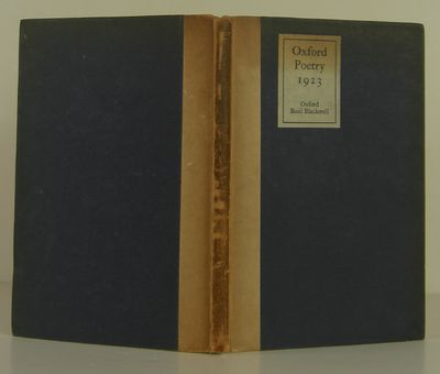 Oxford: Basil Blackwell, 1923, 1923. 1st Edition. Hardcover. Very Good. Published in Oxford by Basil...