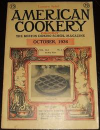 A Vintage Issue of the American Cookery Magazine for October 1936