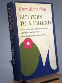 Letters to a Friend (1950 - 1952)