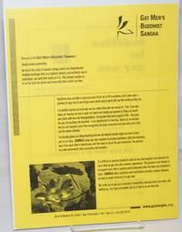 image of Buddhism for Gay Men [handbill]