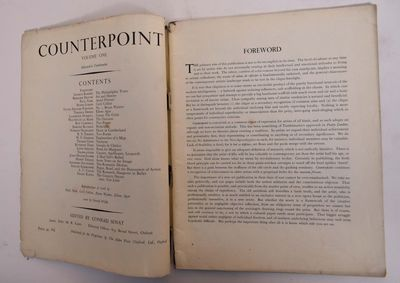 Oxford: The Alden Press, 1944. Paperback. VG- light to moderate wear to wraps, binding loose. interi...