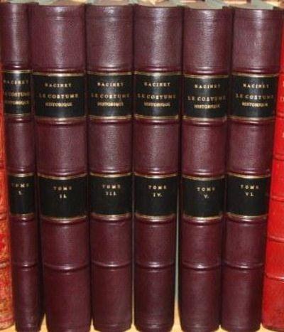 Le Costume Historique (6 volumes,...