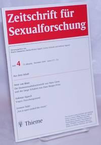 image of Zeitschrift für sexualforschung: vol. 13, #4, Dezember 2000: Die Homosexualitätsentwürfe von Hans Giese und der lange Schatten von Hans Bürger-Prinz